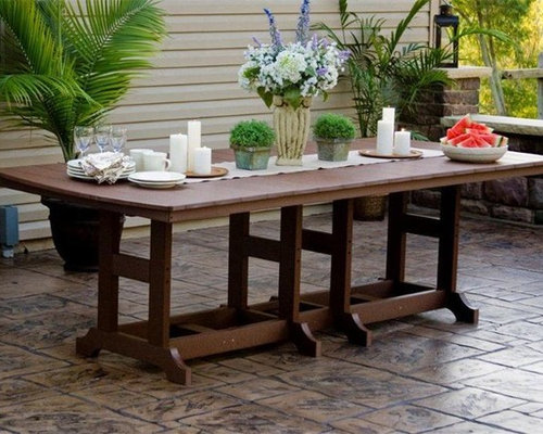 Polywood Patio Table Modern Patio Outdoor