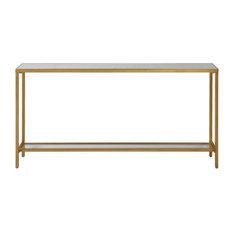 RL-147127 Table Antiqued Gold Metal Hayley