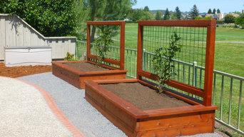 Planter Boxes & Vegetable Gardens