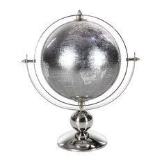 """GwG Outlet Stainless Steel Pvc Globe, 6""""x11"""""""