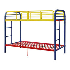 Acme Furniture - Acme Thomas Twin Over Twin Bunk Bed, Rainbow - Bunk Beds