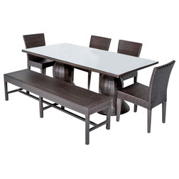 Contemporary Outdoor Dining Sets by Burroughs Hardwoods Inc.