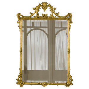 Hickory Manor House 4139VGL English Mirror, Gold Leaf
