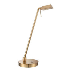 George Kovacs George's Reading Room Table Lamp, Honey Gold