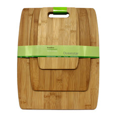 Oceanstar - Oceanstar 3-Piece Bamboo Cutting Board Set - Cutting Boards