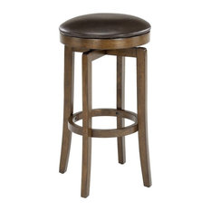 Brendan Backless Bar Stool Brown Cherry