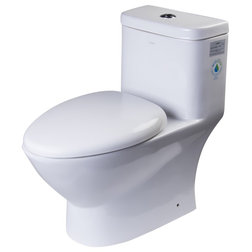 Contemporary Toilets by Aquamoon