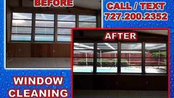 Window Cleaning in Dunedin, Florida