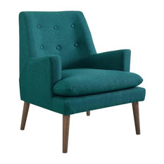 ADDISON UPHOLSTERED LOUNGE CHAIR/TEAL