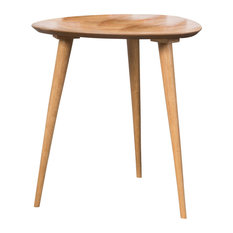 GDF Studio Finnian Wood Finish End Table Natural