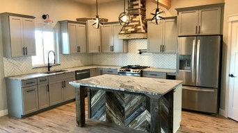 Brad St. Custom/Modern Farmhouse Kitchen/Bend, OR