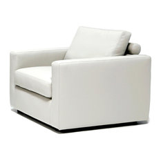 MOD - Tyler Club Chair, Cloud White - Armchairs and Accent Chairs