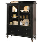 Moreno Valley Hutch - Rustic - China Cabinets And Hutches ...