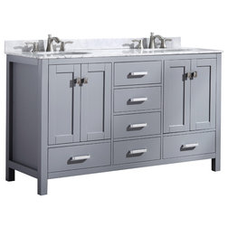 Transitional Bathroom Vanities And Sink Consoles by SpaWorld Corp