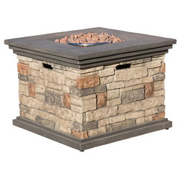 Rustic Fire Pits by GDFStudio