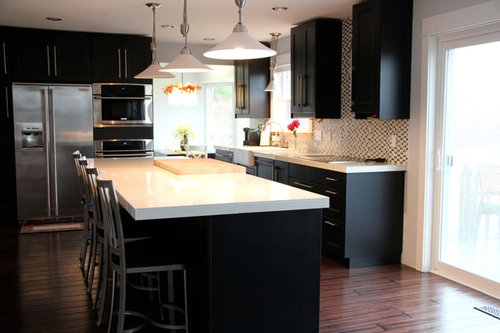 Our Almost Finished Kitchen W Tile Countertops