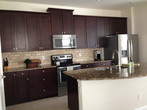 How can I match kitchen cabinets with wood cabinets in ...