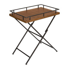 McDowell Tray Table, Rustic Brown