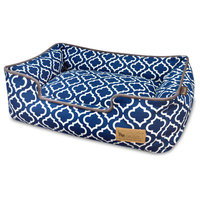Lounge Bed Moroccan, Navy, Large