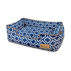Lounge Bed Moroccan, Navy, Extra Large