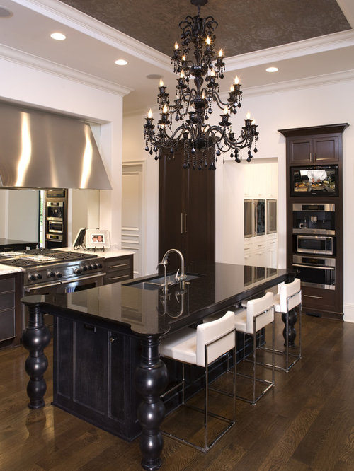 Chandelier Over Kitchen Island Ideas, Pictures, Remodel And Decor