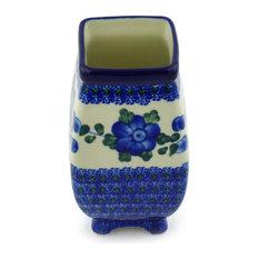 """Polmedia Polish Pottery 6"""" Stoneware Vase"""