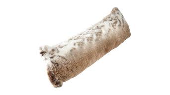 Katrina Hampton Faux Fur Draught Excluder Cushion
