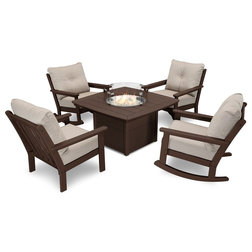Transitional Outdoor Dining Sets by Polywood
