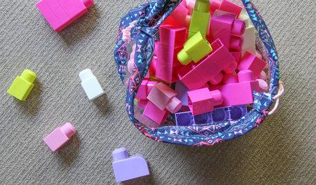 DIY Sewing Project: A Cute Peekaboo Toy Bag