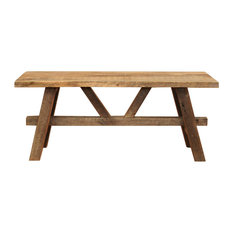 reclaimed wood coffee tables | houzz