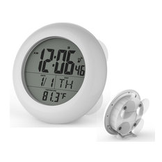 Atomic Water Resistant LCD Clock