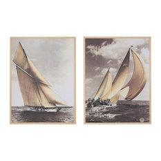 Regatta Framed Prints, 78x102 cm, Set of 2