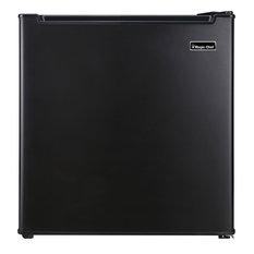 1.7-Cu. Ft. Mini Refrigerator With Chiller Compartment, Black