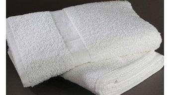 "Hotel Bath Wash Towels : 100% Cotton 13""X13"" Premium Wash Cloth, Ring Spun, Dobb"