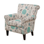 GDF Studio Roseville Floral Design Club Chair