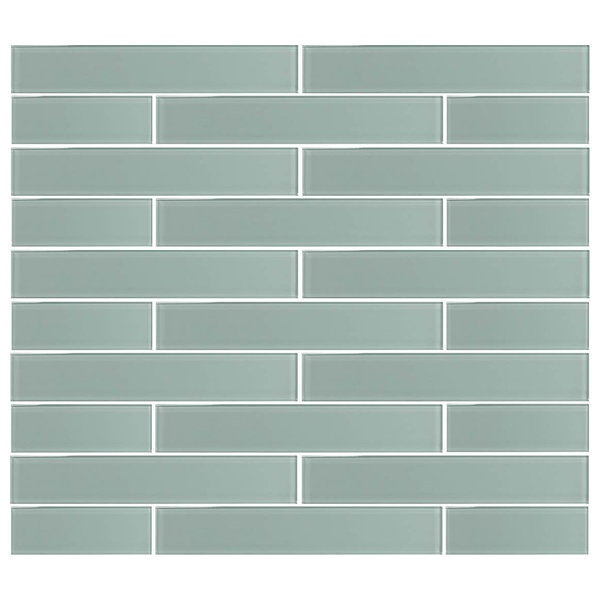 Ice Age Glass Subway Tile, 2