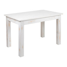 Flash Furniture 46X30 Rustic Farm Table In Antique Rustic White