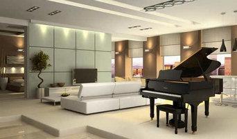 Contemporary Home Grand Piano Installation