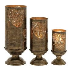 Gatterford Metal Candleholders, Set of 3