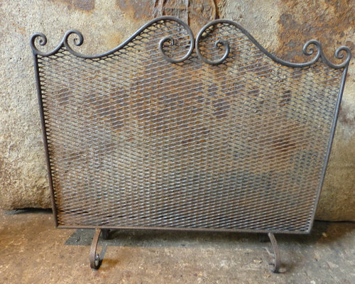 We always have 50+ antique and vintage fireplace screens and fenders in stock that can be ordered on line. See our current stock at https://www.firebacks.net/fireplace-screens.html. We deliver