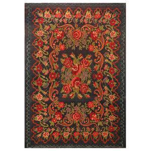 Morrocan Trellis Multi Wool Rug 36222 6.5X9