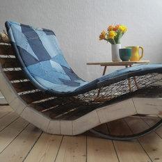 - Jeans' Final Resting Place - Indendørs Chaiselonger