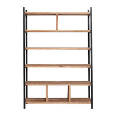 Susteren Black Shelving Unit, 200x250x30 cm