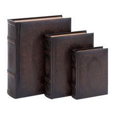 Poe Secret Storage Book Boxes, Set of 3