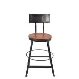 Industrial Bar Stools And Counter Stools by Taran Design