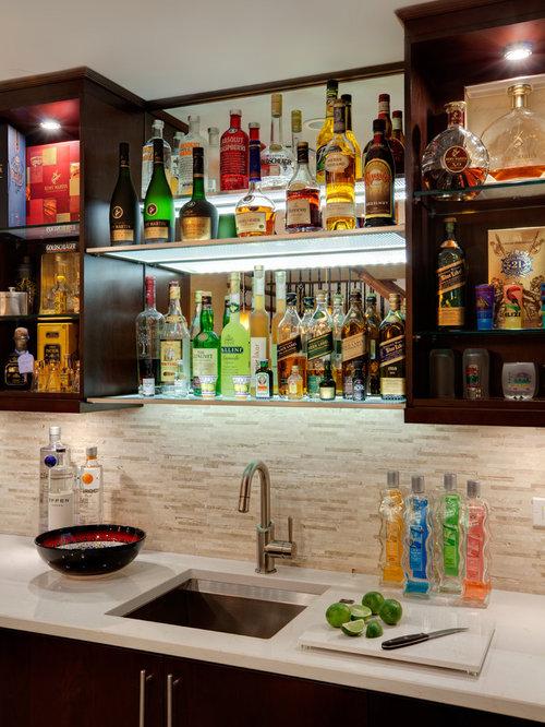 Liquor Shelf   Houzz
