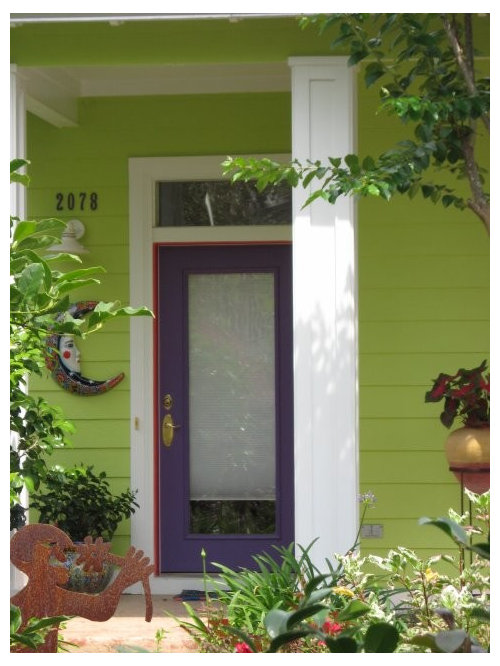 Green For An Exterior Paint Color