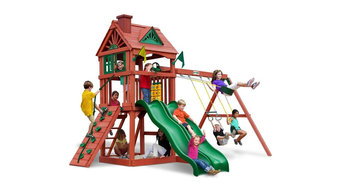 Double Down Swing Set