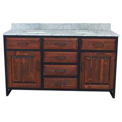 Industrial Bathroom Vanities And Sink Consoles by inFurniture Inc.,