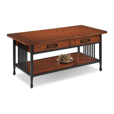 Beau Leick Home   Two Drawer Coffee Table   Coffee Tables